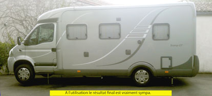 verin hydraulique stabilisateur camping car courroie de transport. Black Bedroom Furniture Sets. Home Design Ideas