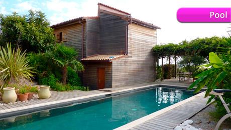 a vendre superbe villa en corse du sud 2a avec piscine vue sur mer et jardin arbor by new3s. Black Bedroom Furniture Sets. Home Design Ideas