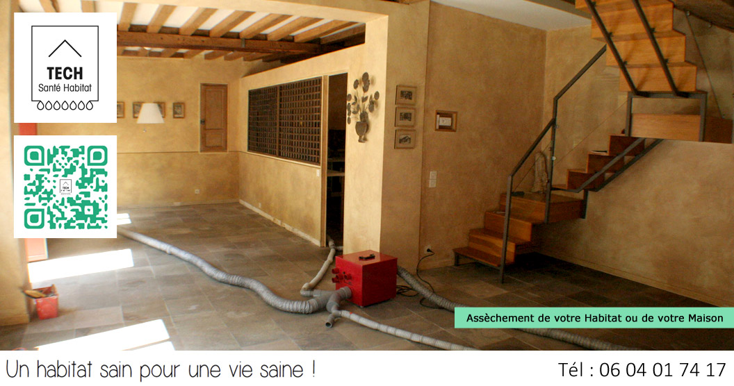 Tech sant habitat traitement anti moisissures for Air humide maison