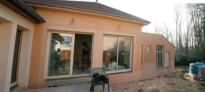 Vb architecture construction de maison r novation d for Renovation exterieur mobil home